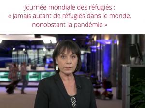 Jamais autant de réfugiés dans le monde nonobstant la pandémie