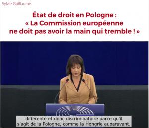 État de droit en Pologne : La Commission européenne ne doit pas avoir la main qui tremble